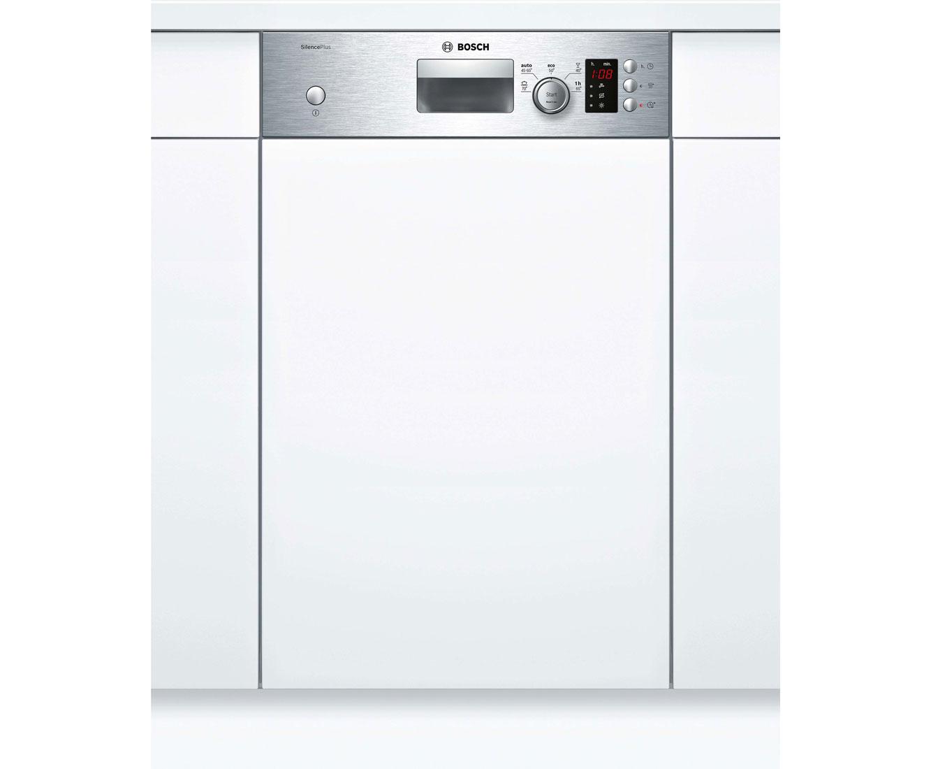 Bosch Serie 2 SPI25CS03E Geschirrspüler 45 cm - Edelstahl | Küche und Esszimmer > Küchenelektrogeräte > Gefrierschränke | Edelstahl | Bosch