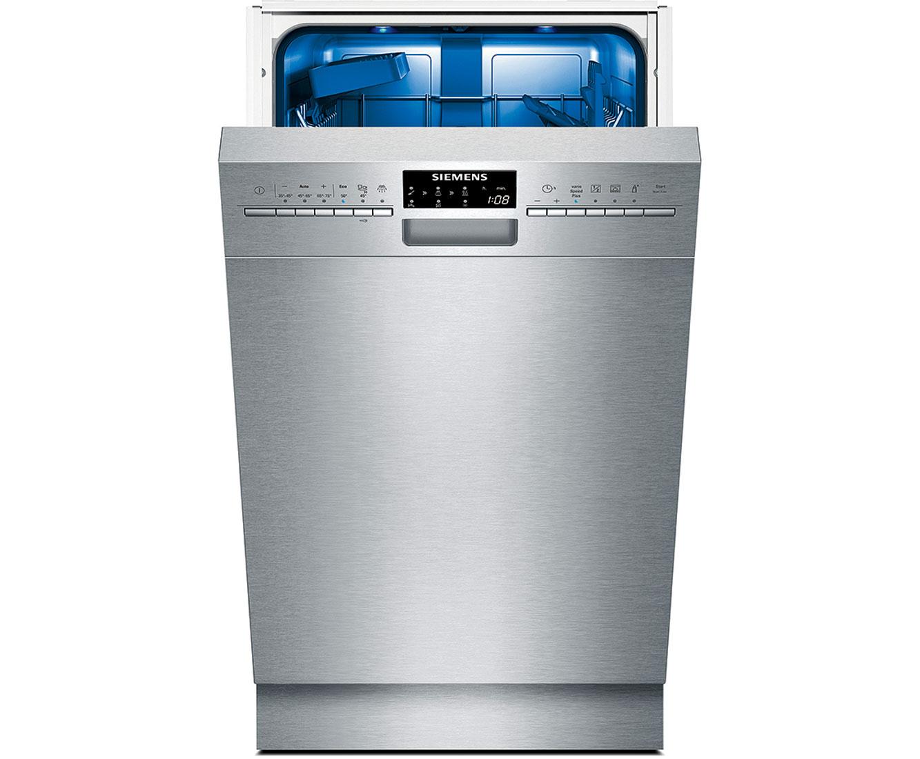 Wonderful Siemens IQ500 SR46T557EU Unterbau Geschirrspüler   45 Cm, Edelstahl, A++ Awesome Design