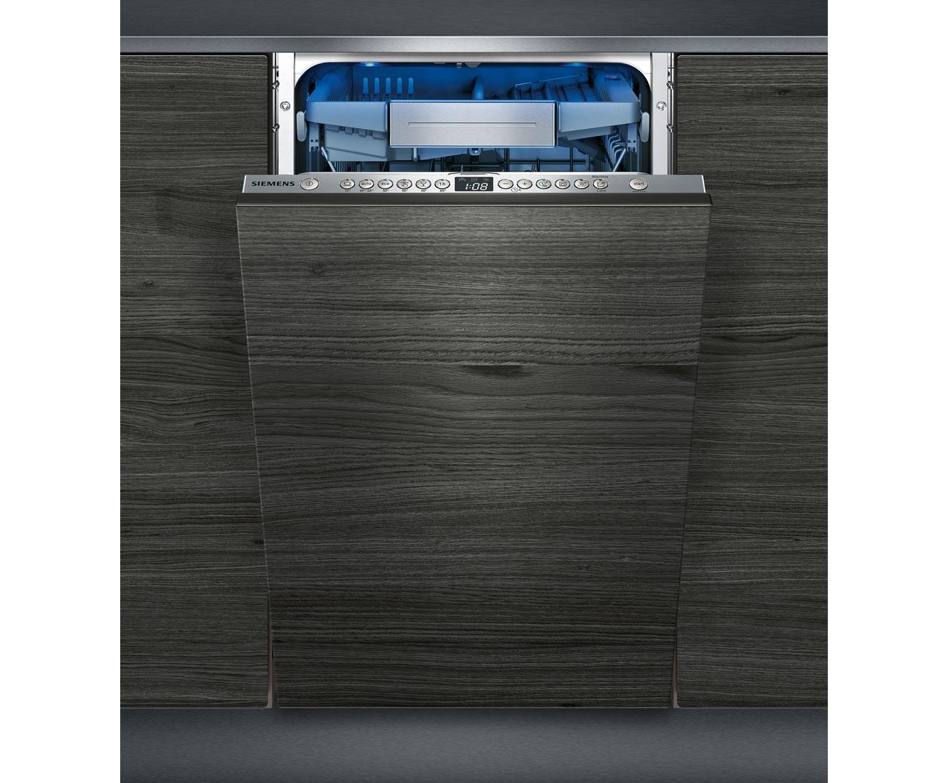 Siemens SR656D00TE Geschirrspüler 45 cm - Edelstahl   Küche und Esszimmer > Küchenelektrogeräte > Gefrierschränke   Edelstahl   Siemens