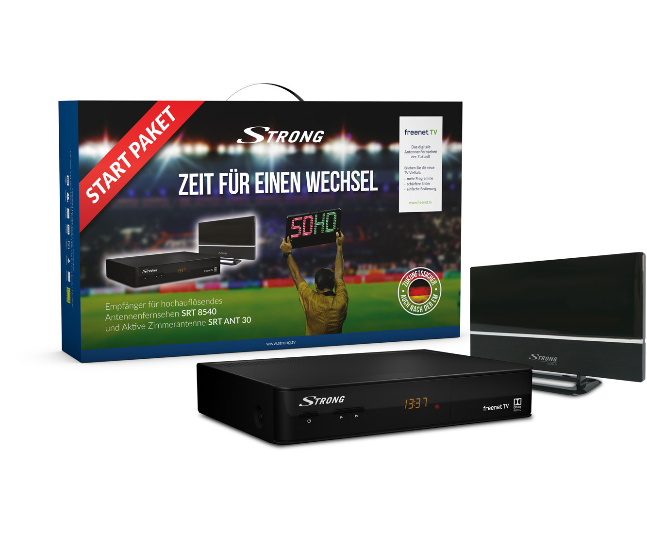 Strong START-Paket Freenet TV Receiver - Schwarz