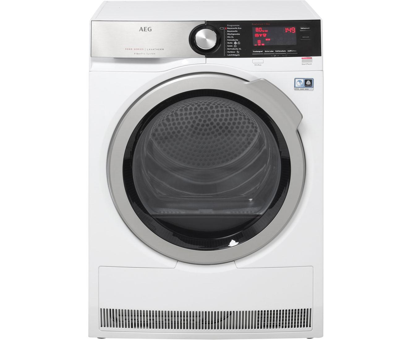 AEG T9DE87685 Wärmepumpentrockner - Weiß | Bad > Waschmaschinen und Trockner > Wärmepumpentrockner | Weiß | AEG