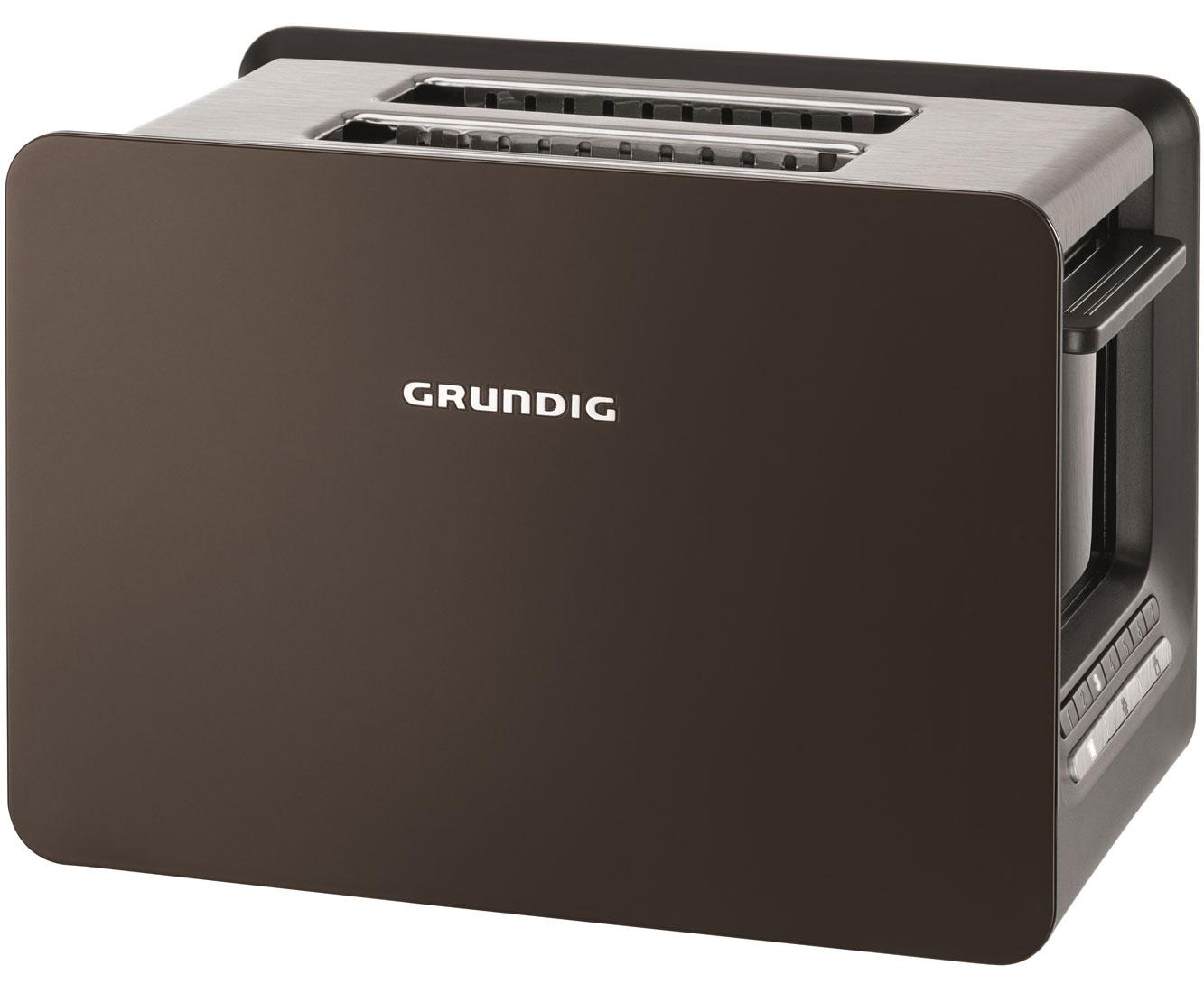 Grundig TA 7280 G Wasserkocher & Toaster - Braun