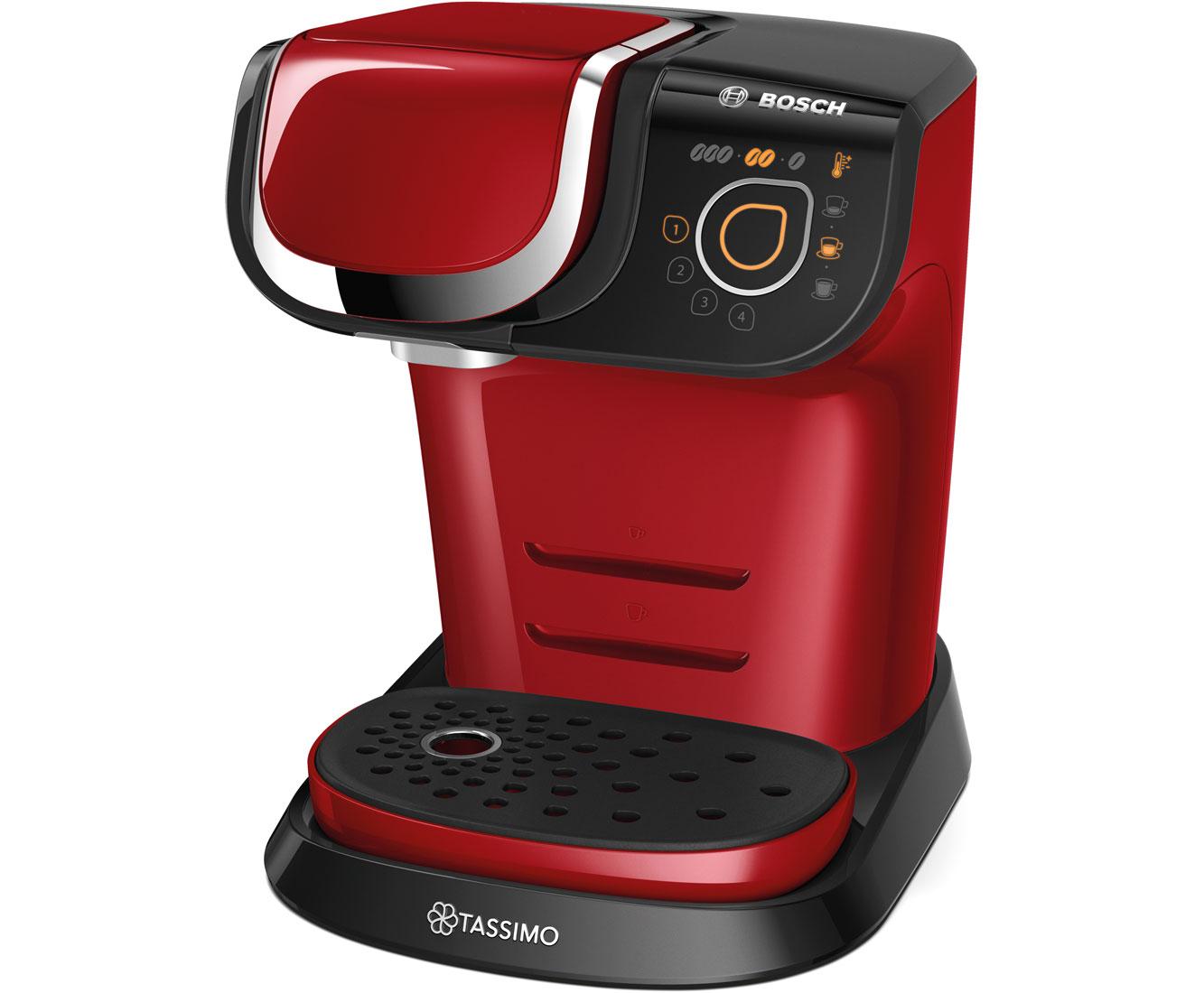 Tassimo My Way TAS6003 Kaffeemaschinen - Rot