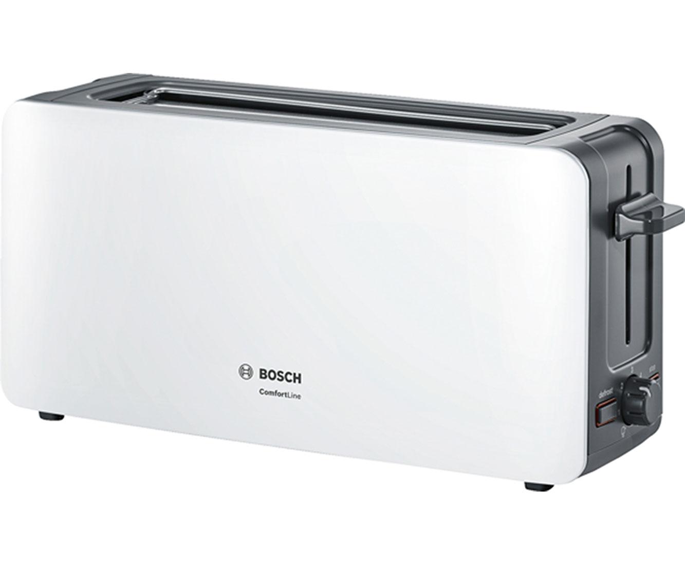 Bosch TAT6A001 Wasserkocher & Toaster - Weiss   Küche und Esszimmer > Küchengeräte > Toaster   Weiss   Bosch