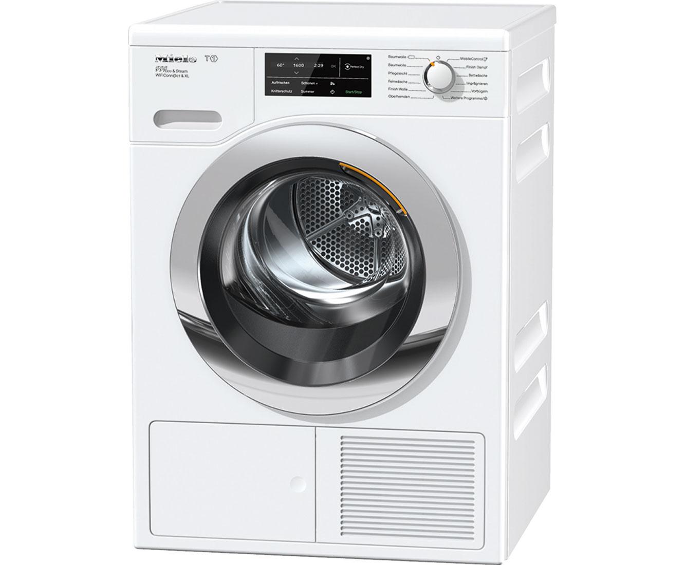 Waschmaschinen und trockner » weiss metall wärmepumpentrockner