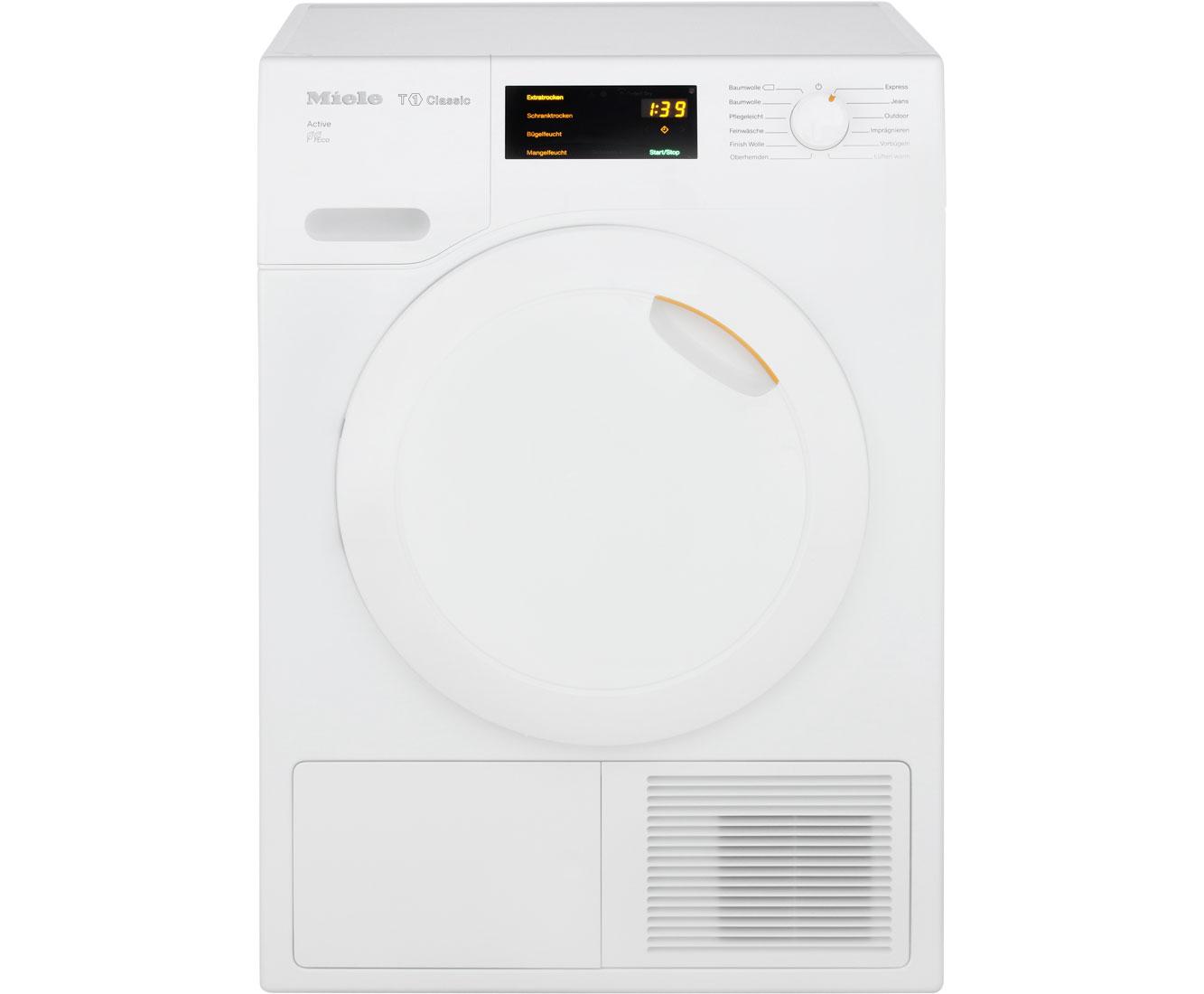 Miele waschmaschinen baureihe w und trockner baureihe t