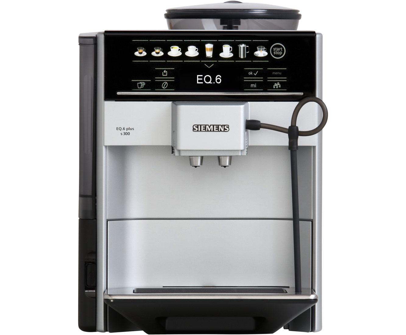 Siemens eq6 te653501de kaffeevollautomat 15 bar silber