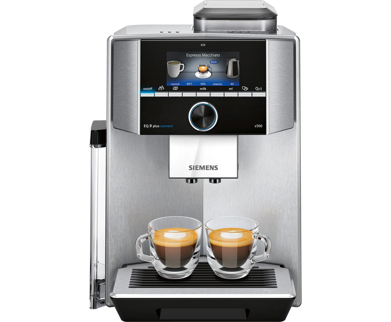 EQ.9 TI9555X1DE Kaffeemaschinen - Edelstahl