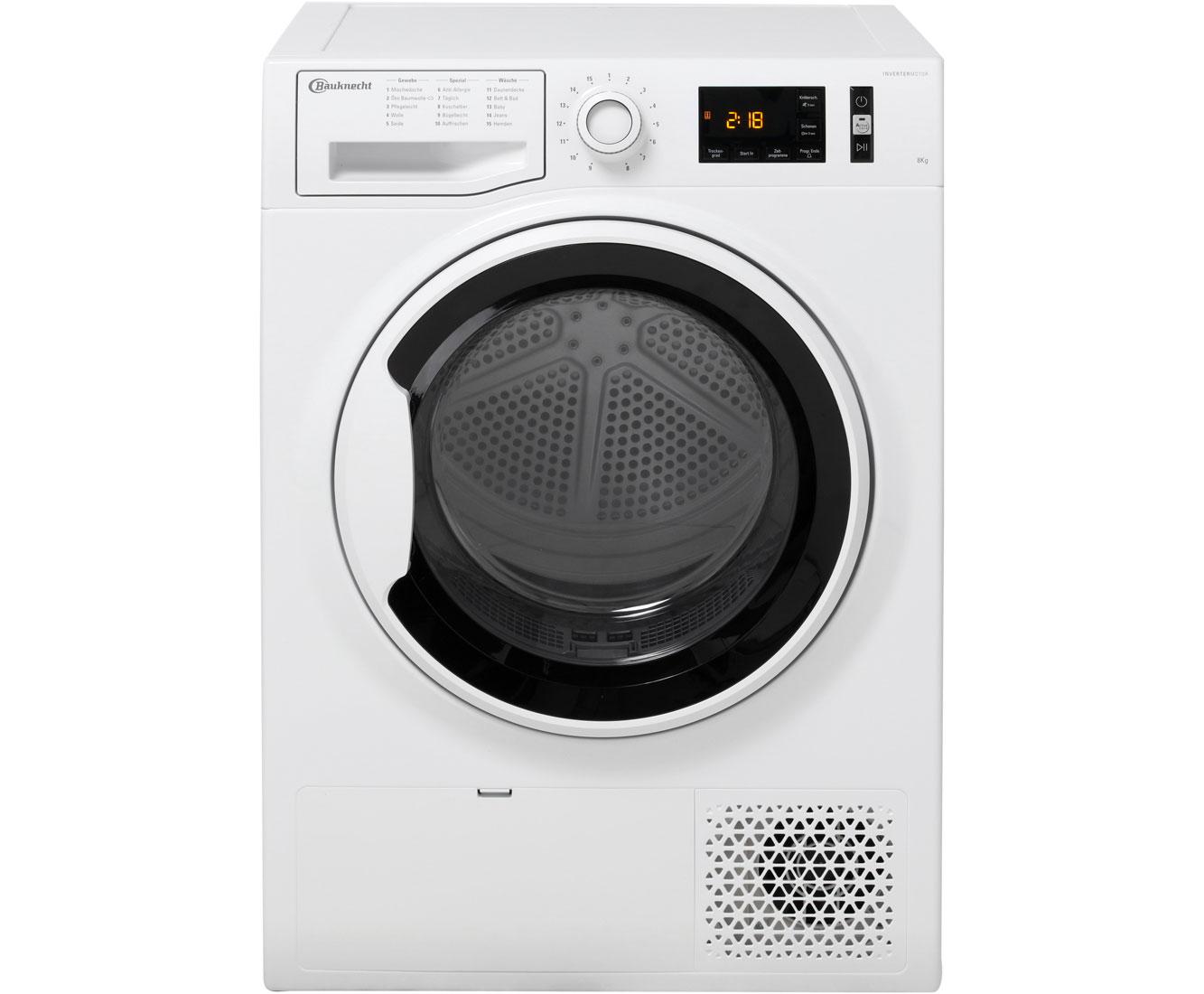 Bauknecht TK AO 8A+++ Wärmepumpentrockner - Weiß | Bad > Waschmaschinen und Trockner > Wärmepumpentrockner | Weiß | Bauknecht