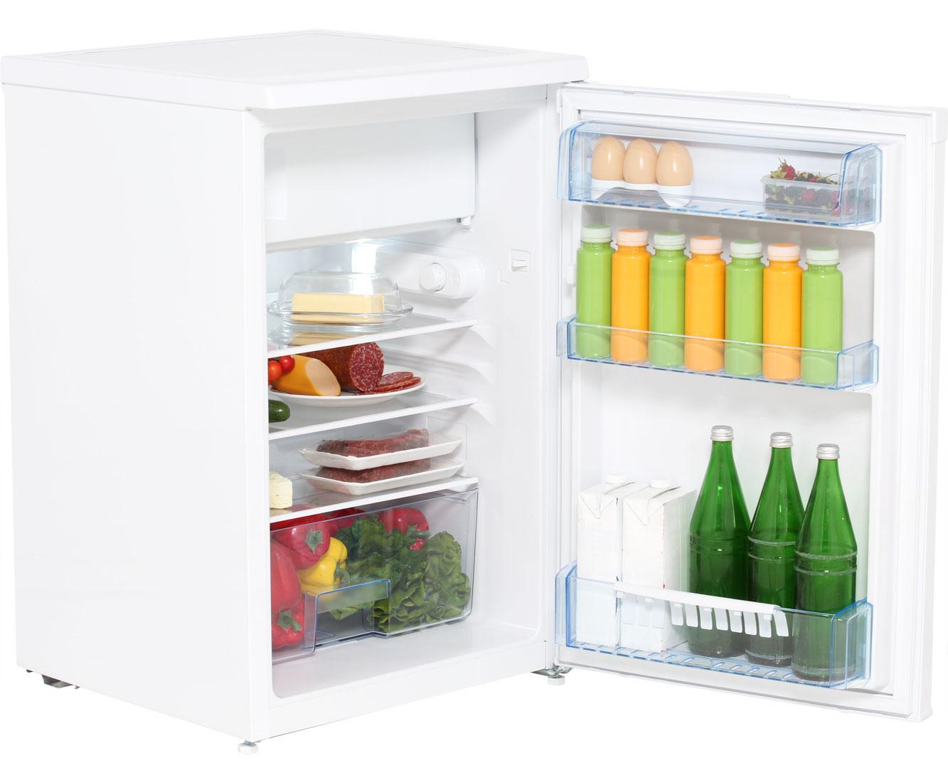 Beko TSE1284 Tisch-Kühlschrank mit Gefrierfach - Weiß, A+++