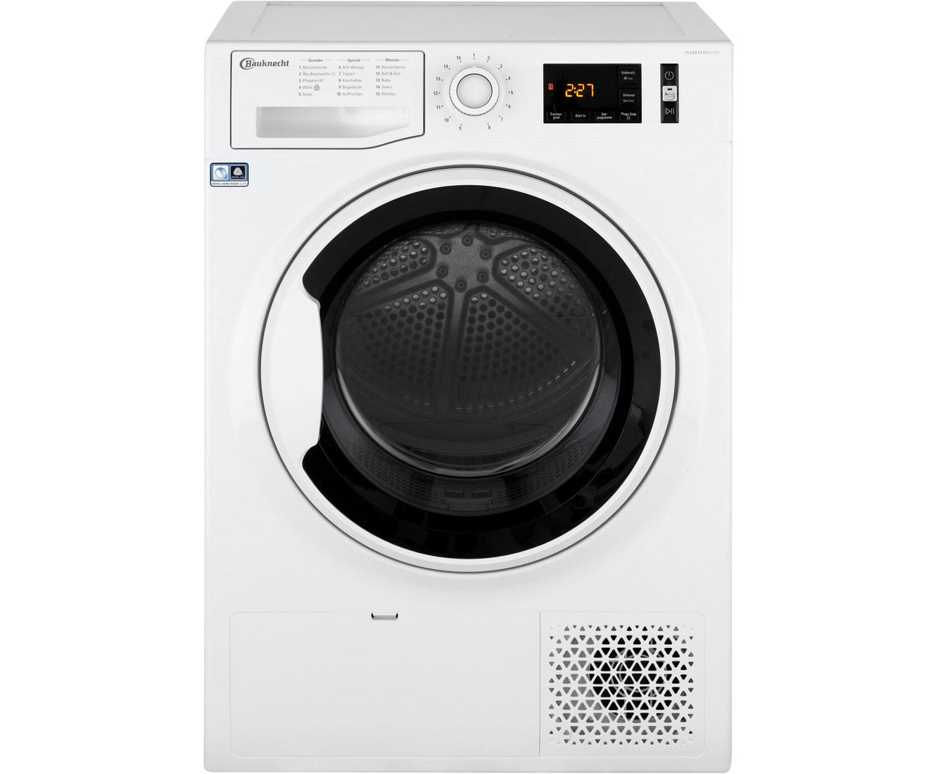 Bauknecht T SOFT M11 82WK DE Wärmepumpentrockner - Weiss | Bad > Waschmaschinen und Trockner | Weiss | Bauknecht