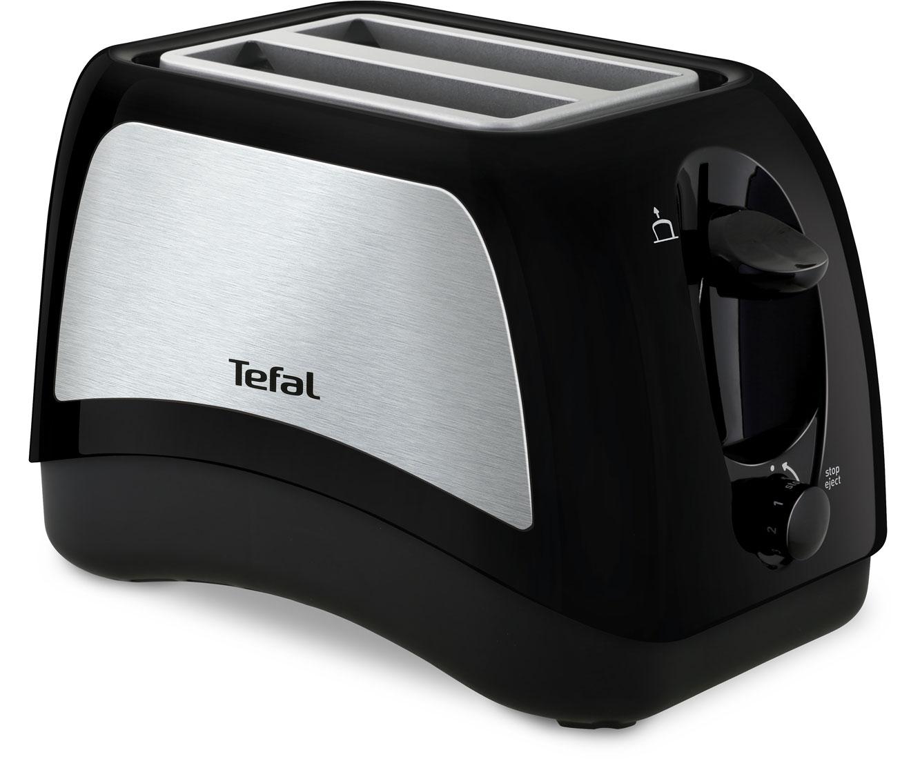 Tefal Delfini Plus TT131D Wasserkocher & Toaster - Schwarz   Küche und Esszimmer > Küchengeräte > Toaster   Schwarz   Tefal