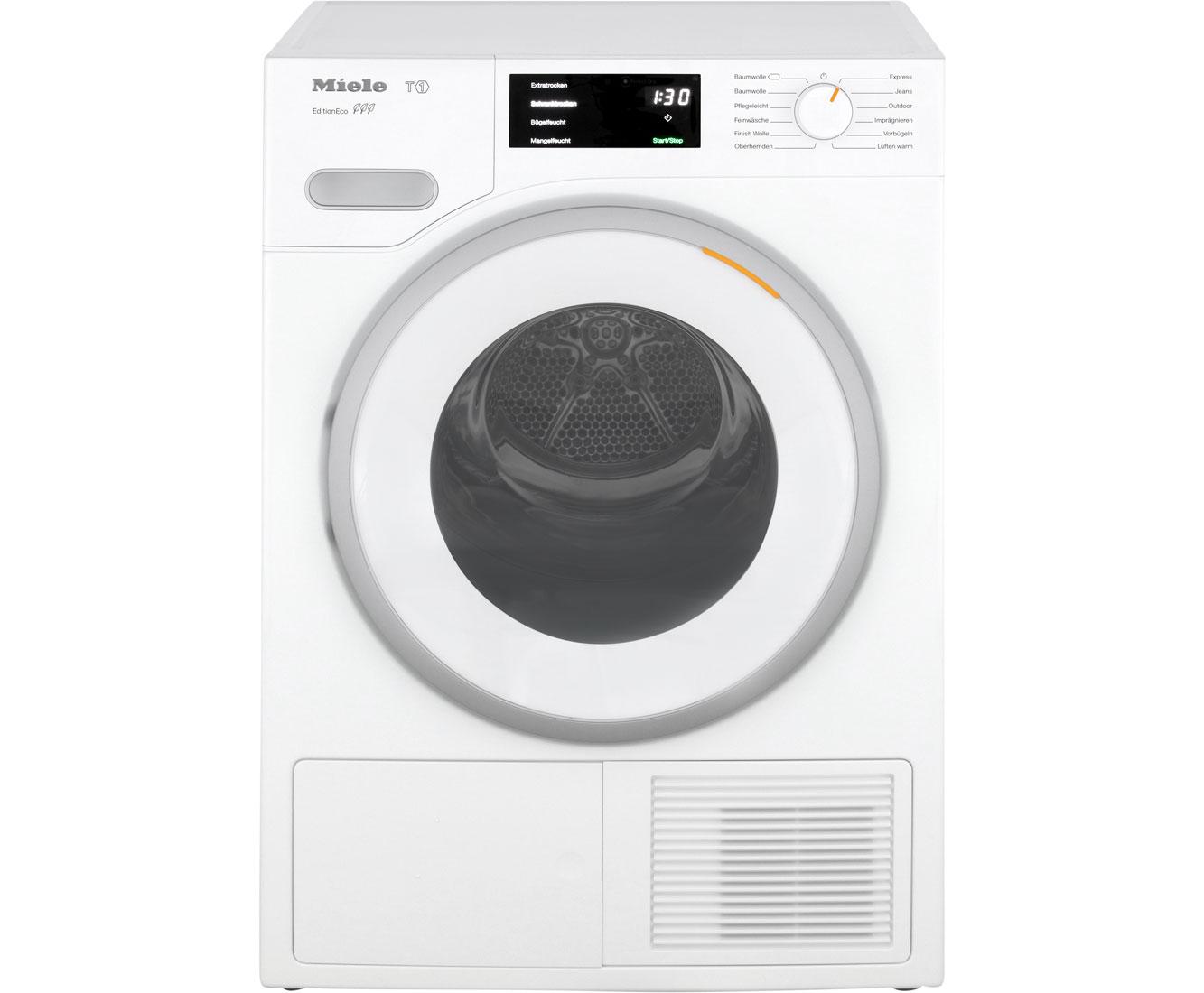 Miele TWF 500 WP Wärmepumpentrockner - Weiß | Bad > Waschmaschinen und Trockner > Wärmepumpentrockner | Weiß | Miele