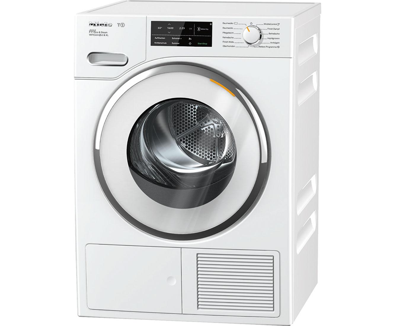 Miele TWJ680WP Wärmepumpentrockner - Weiß | Bad > Waschmaschinen und Trockner > Wärmepumpentrockner | Weiß | Miele