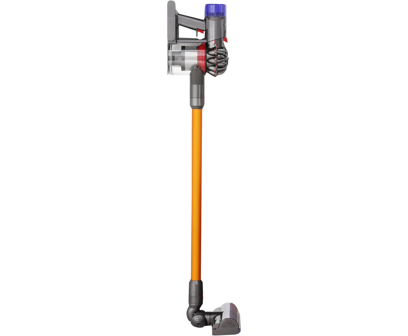 dyson v8 absolute stielstaubsauger freistehend gelb ebay. Black Bedroom Furniture Sets. Home Design Ideas