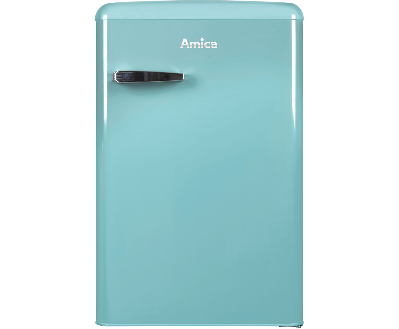 Retro Kühlschrank 85 Cm : Amica vks 15622 t kühlschrank türkisblau retro design a