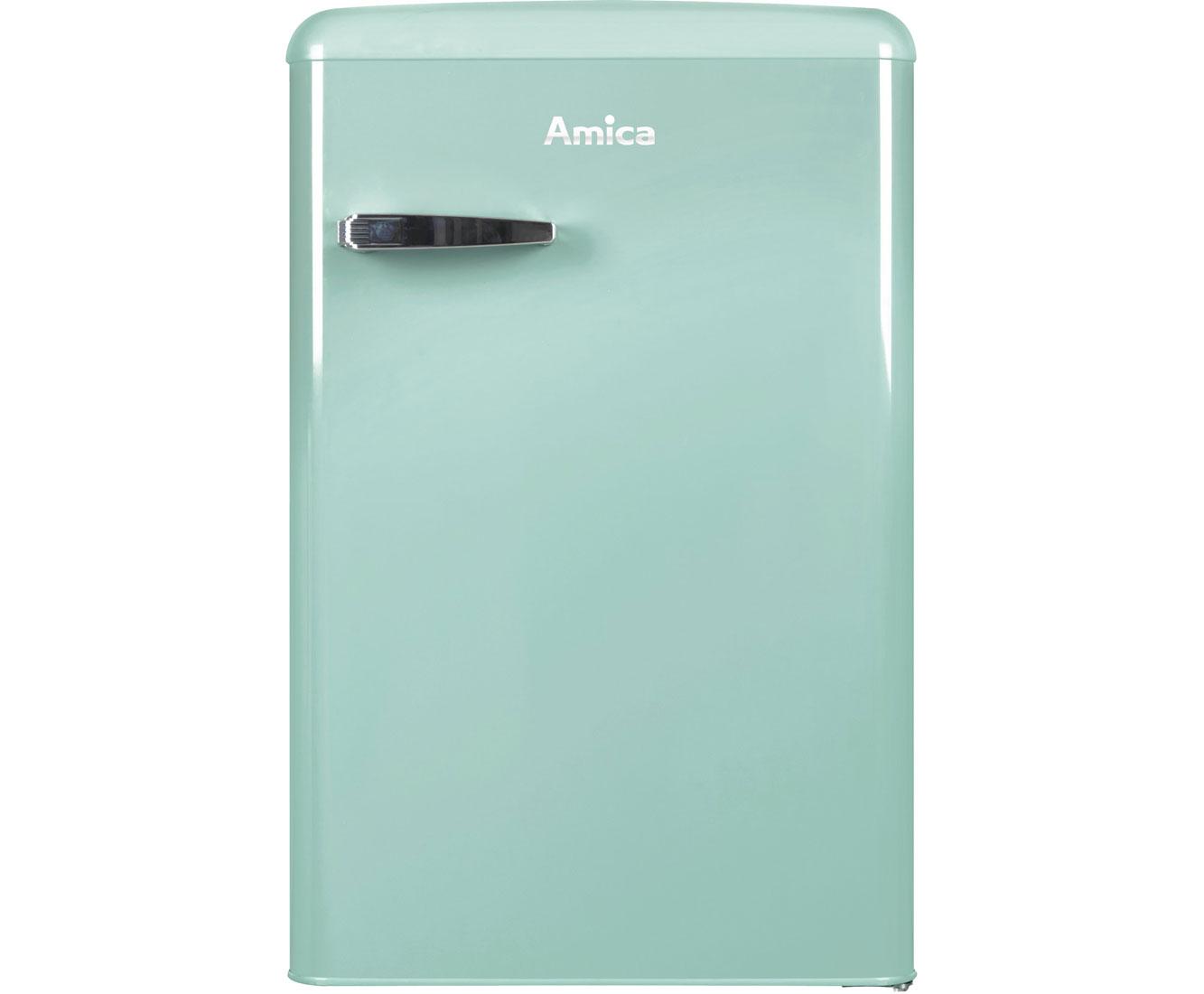 Amica Kühlschrank Retro Erfahrung : Amica vks m kühlschrank mint retro design a