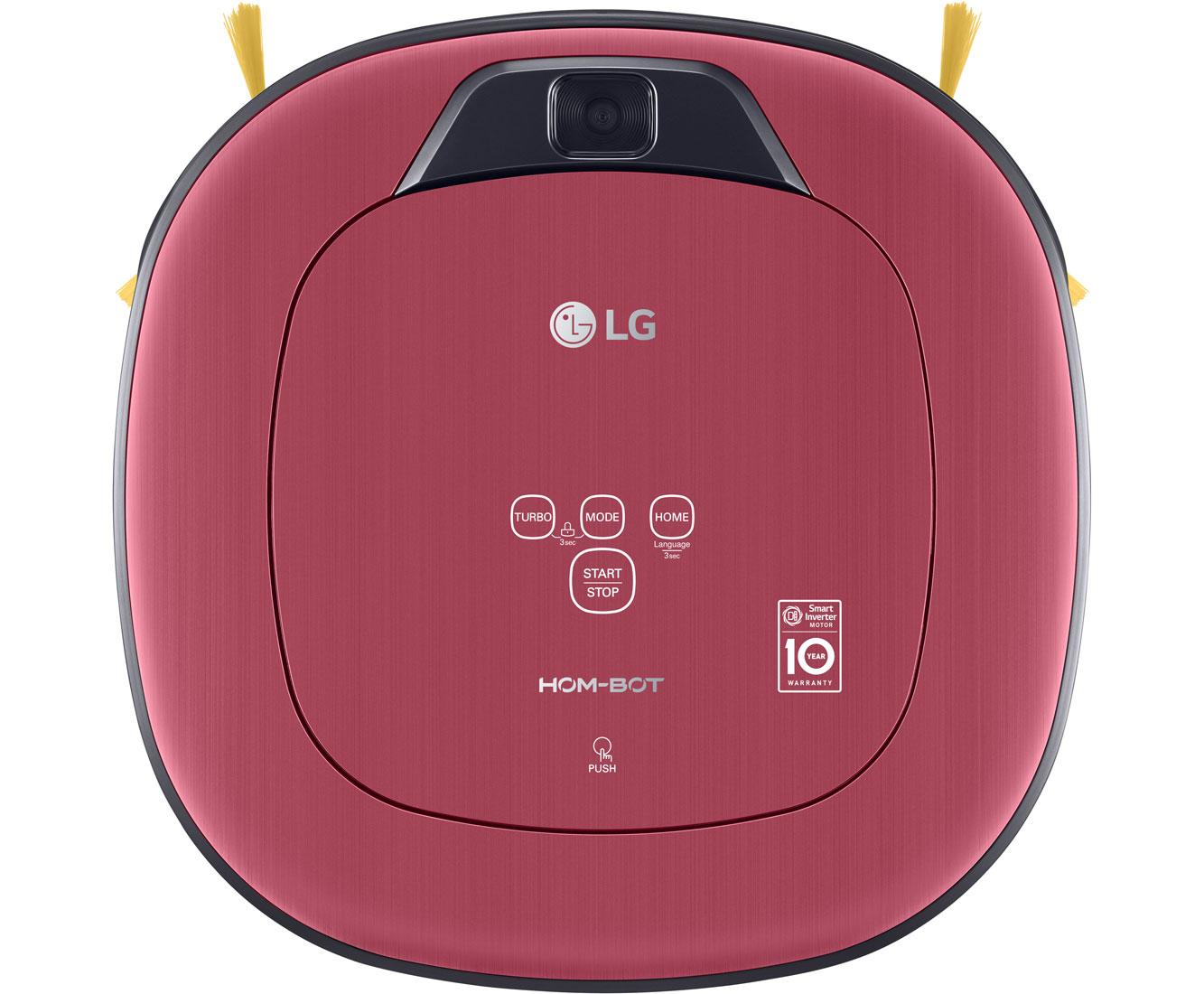 LG HomeBot Turbo VR 9624 PR Staubsauger - Rot Metallic | Flur & Diele > Haushaltsgeräte | Rot - Metallic | LG