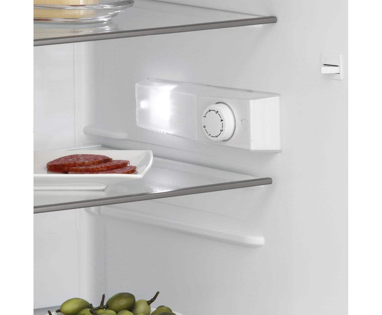 Bomann VS 2185 Kühlschrank - Edelstahl-Optik, A++