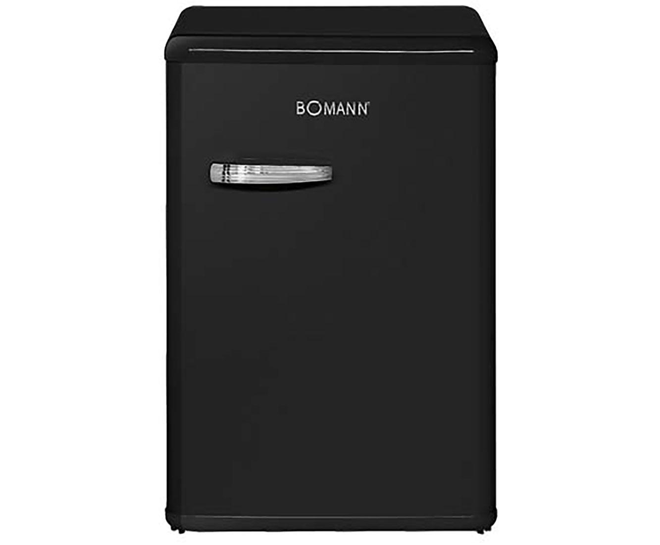 Bomann Kühlschrank Produktion : Bomann vsr kühlschrank schwarz a