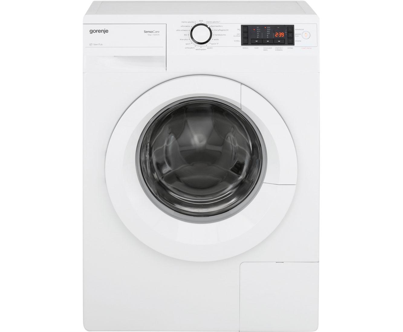 gorenje w 5523 s waschmaschine freistehend weiss neu ebay. Black Bedroom Furniture Sets. Home Design Ideas