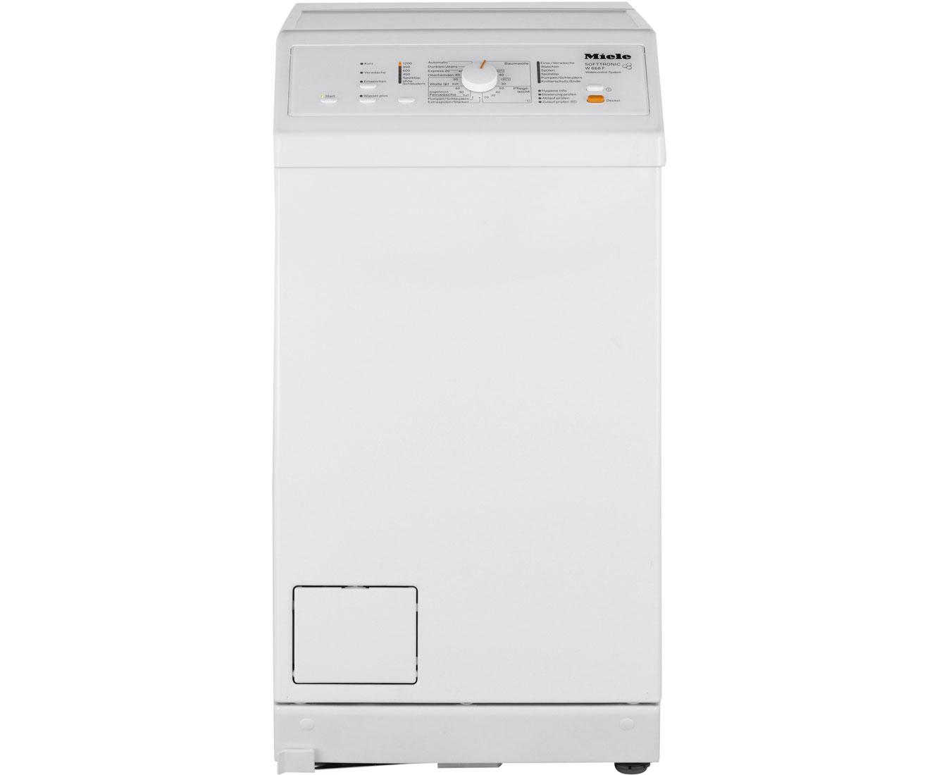 W 668 F WCS Waschmaschinen - Weiss