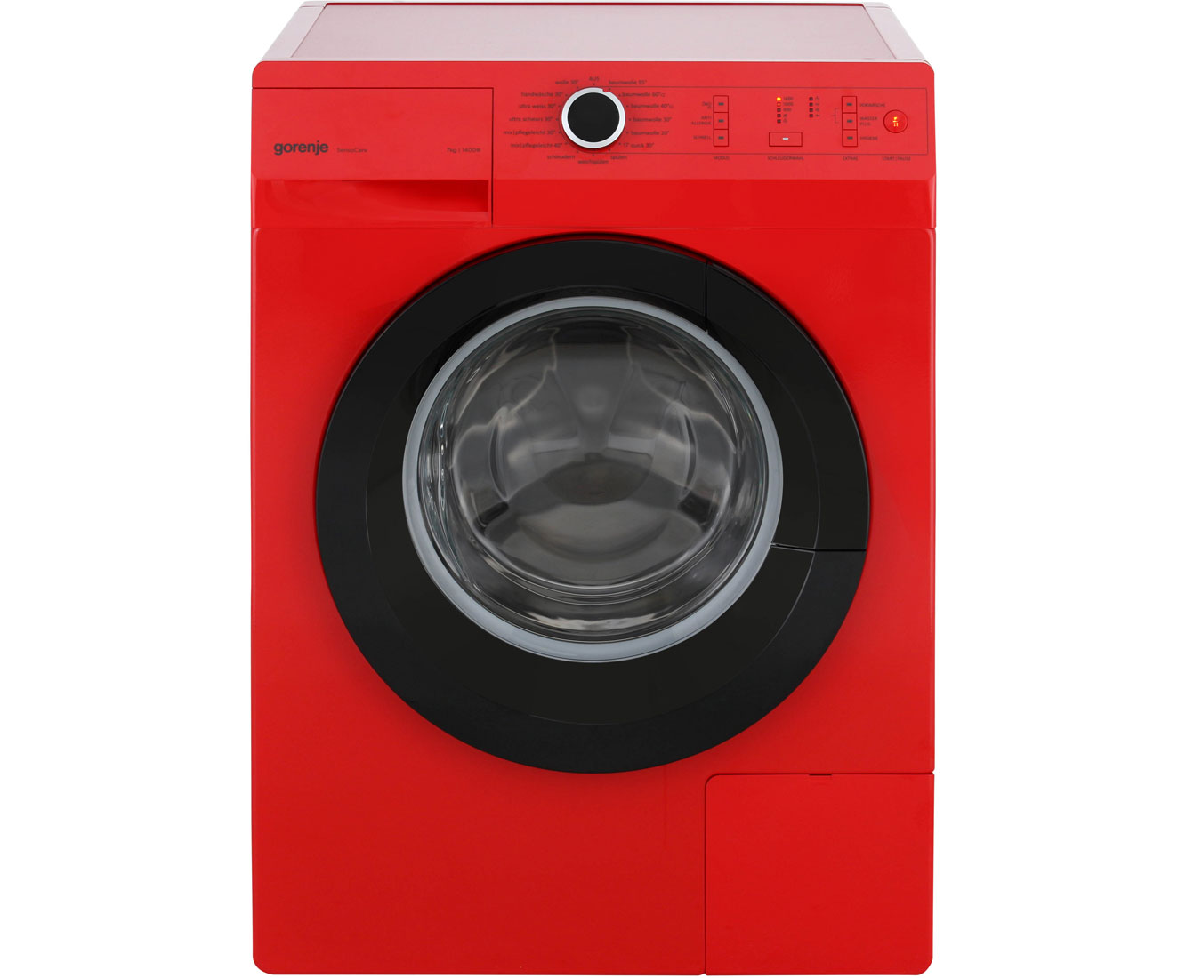 waschmaschine rot
