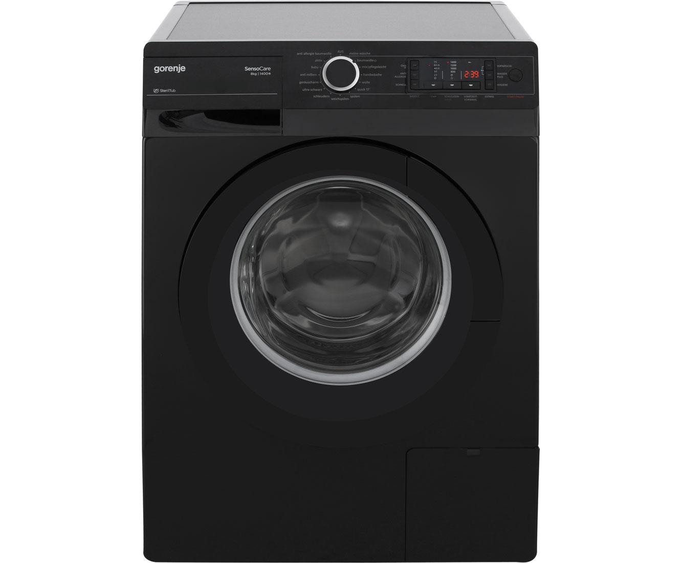 Gorenje colour edition w tb waschmaschine schwarz kg