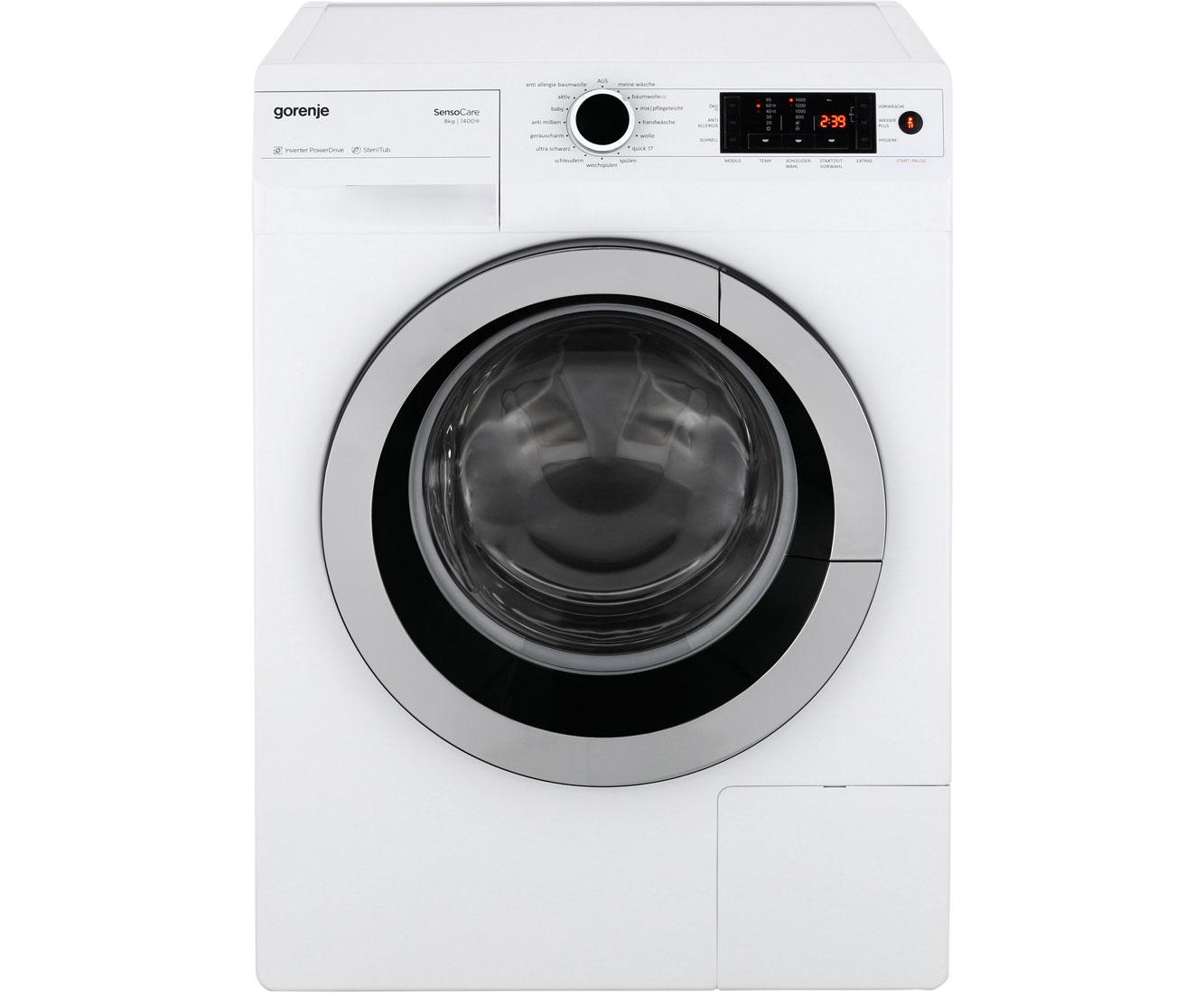 Gorenje w tx i waschmaschine kg u min a