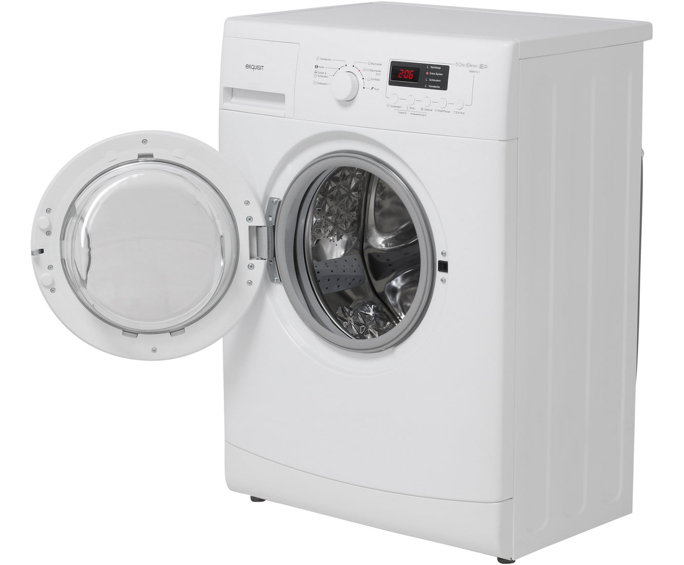 Exquisit WA 6012-1 Waschmaschine Freistehend Weiß Neu