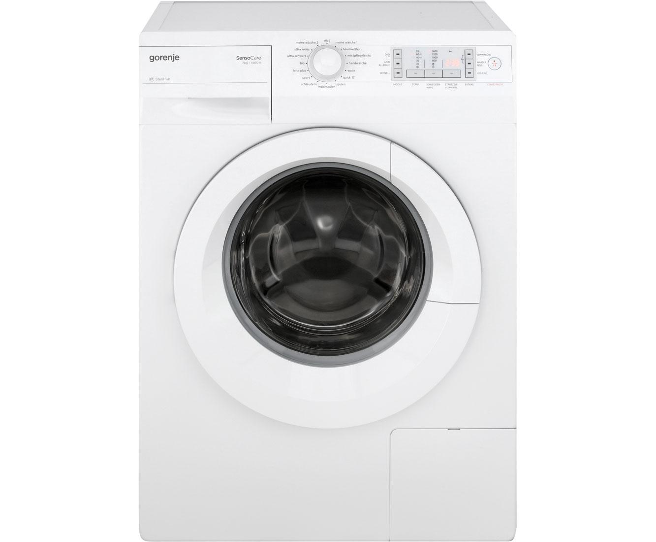gorenje wa 7840 waschmaschine freistehend weiss neu ebay. Black Bedroom Furniture Sets. Home Design Ideas
