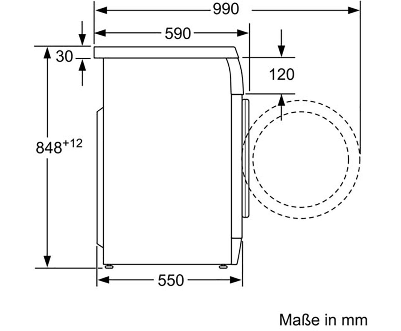 Gut bekannt Bosch Serie 4 WAE28220 Waschmaschine - Weiß, 7 kg, 1400 U/Min, A+++ TB89