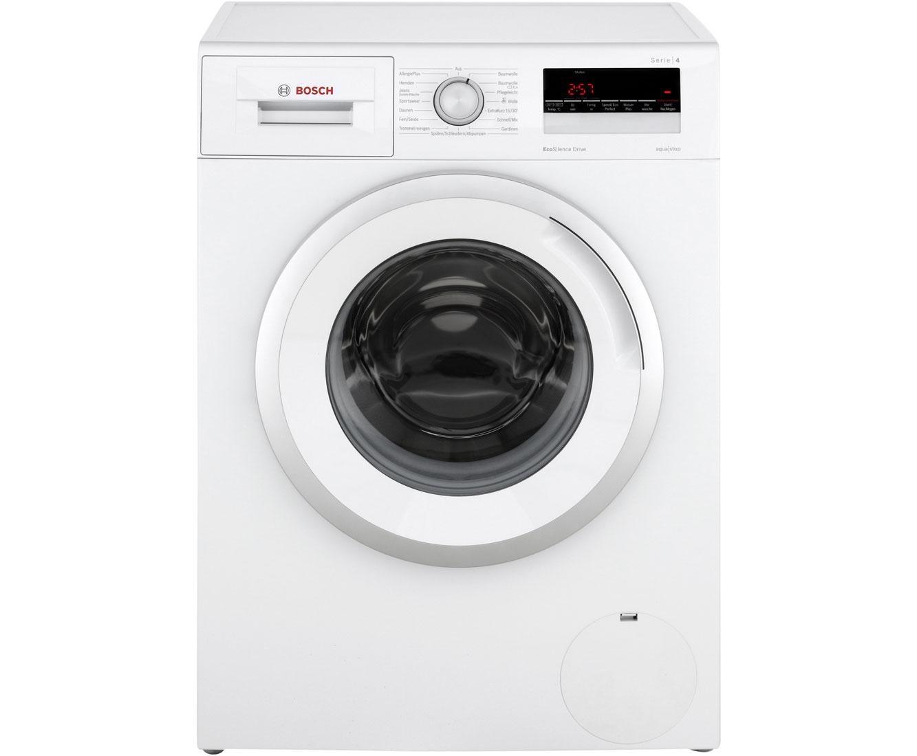 Bosch wan waschmaschine kg u min a