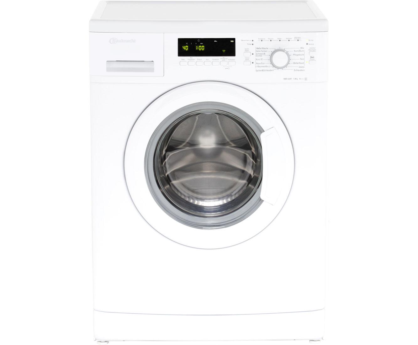 bauknecht wa plus 844 a waschmaschine freistehend weiss neu ebay