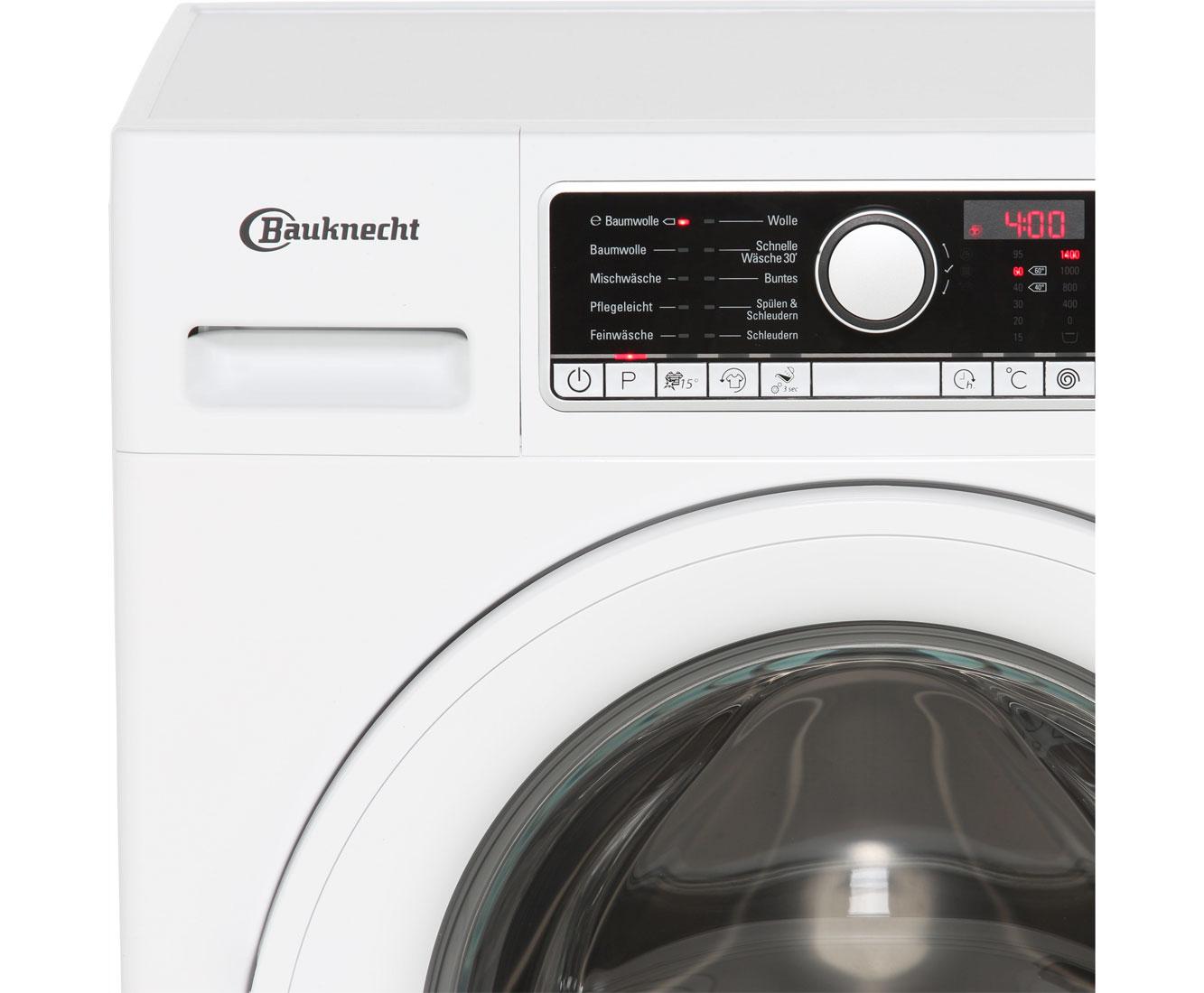 Bauknecht premiumcare wa prime pm waschmaschine kg u