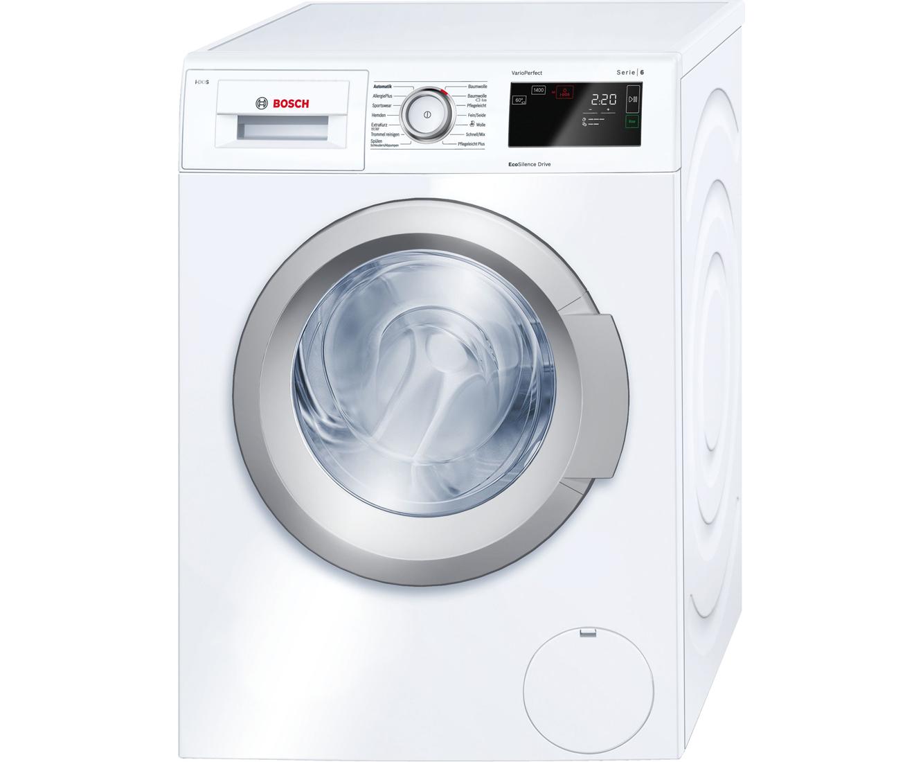 Bosch Waschmaschine Serie 6 Bedienungsanleitung