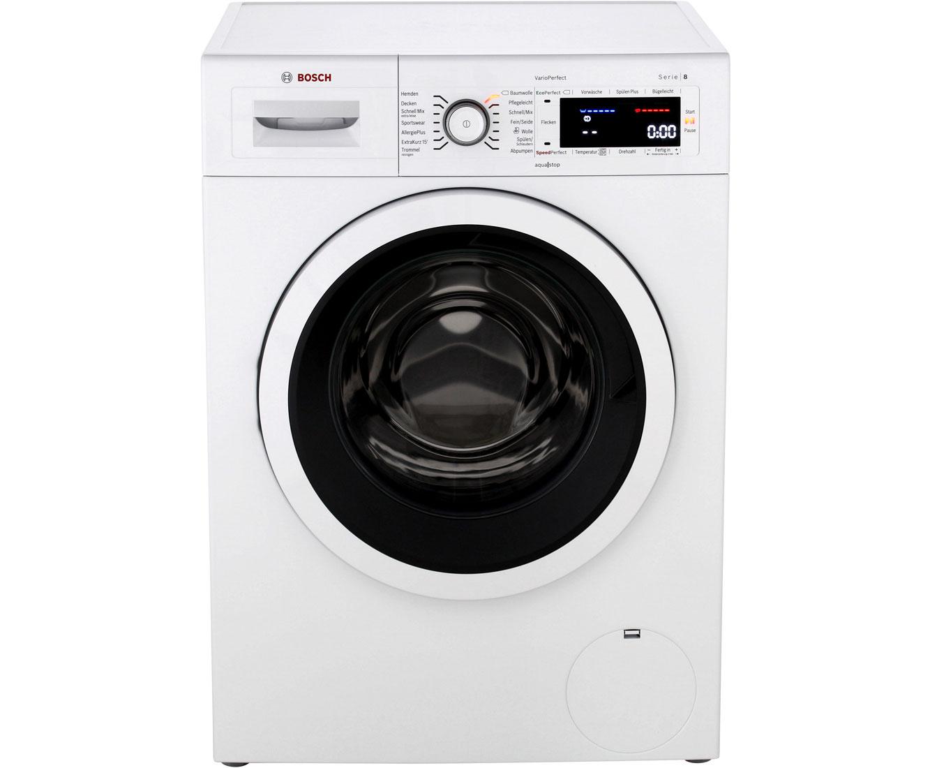 Serie 8 WAW28500 Waschmaschinen - Weiß