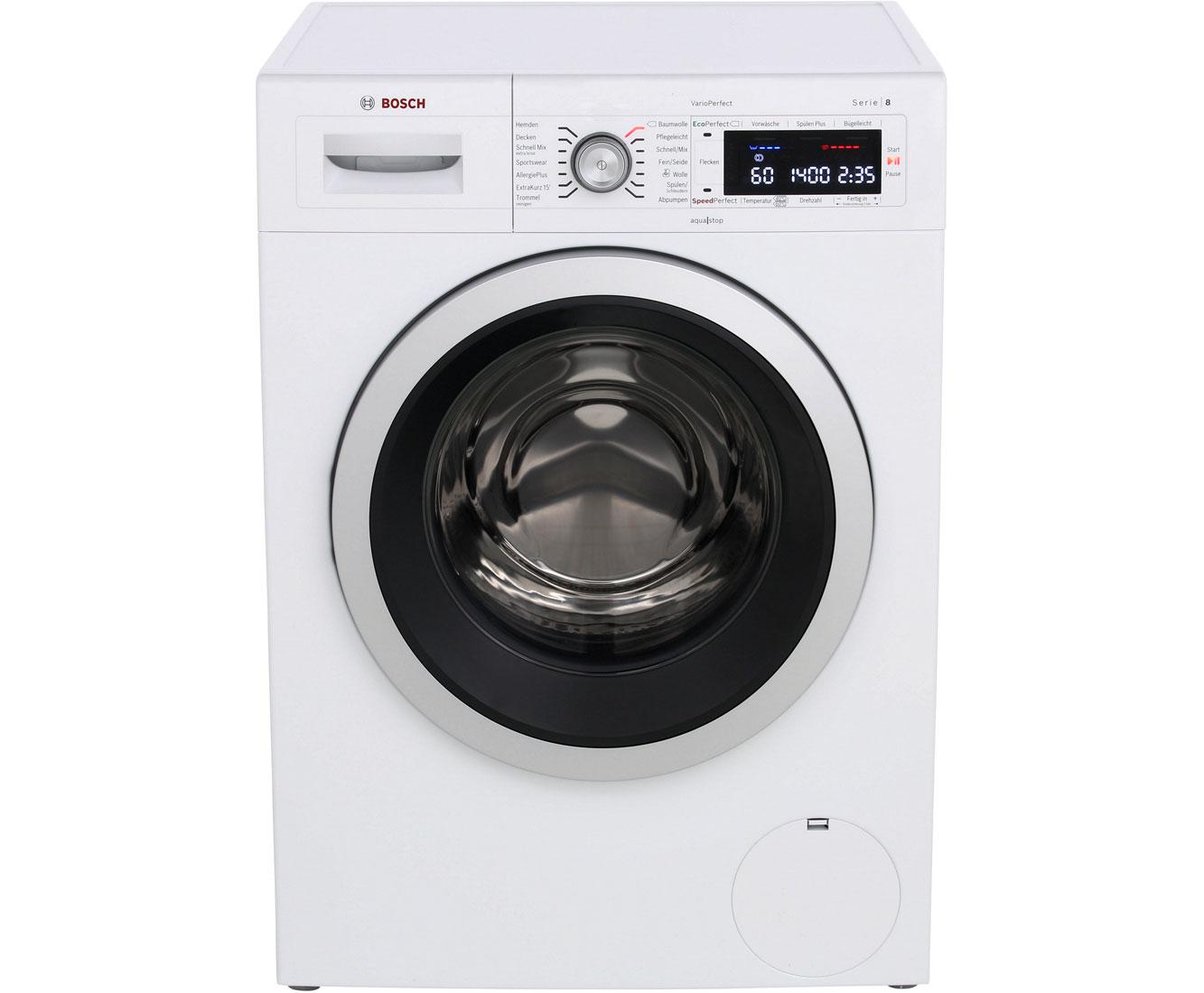 Serie 8 WAW28540 Waschmaschinen - Weiß