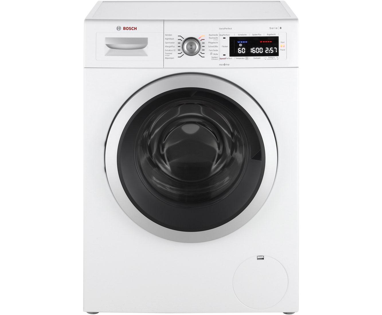 Serie 8 WAW32541 Waschmaschinen - Weiß