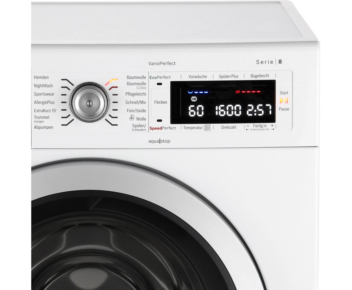 bosch waw waschmaschine serie  freistehend weiss neu