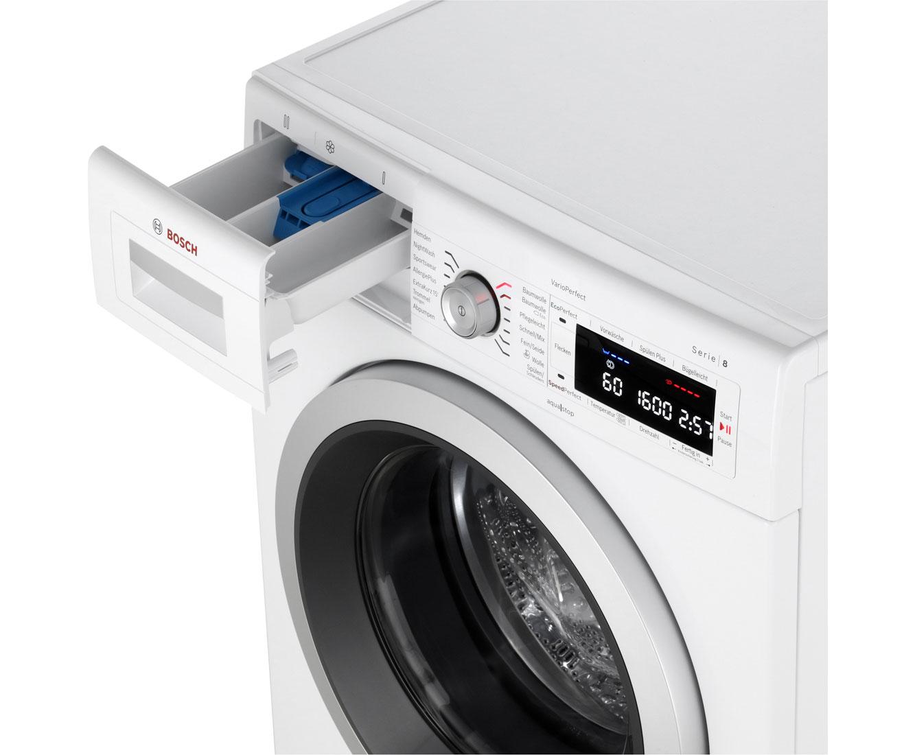 bosch waw32541 serie 8 waschmaschine freistehend wei neu ebay. Black Bedroom Furniture Sets. Home Design Ideas