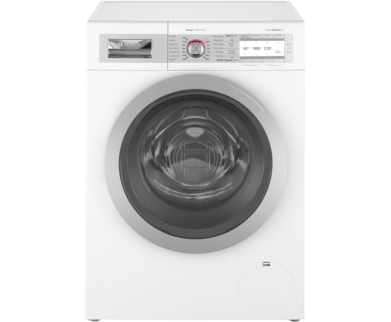 Bosch homeprofessional way w waschmaschine kg u min a