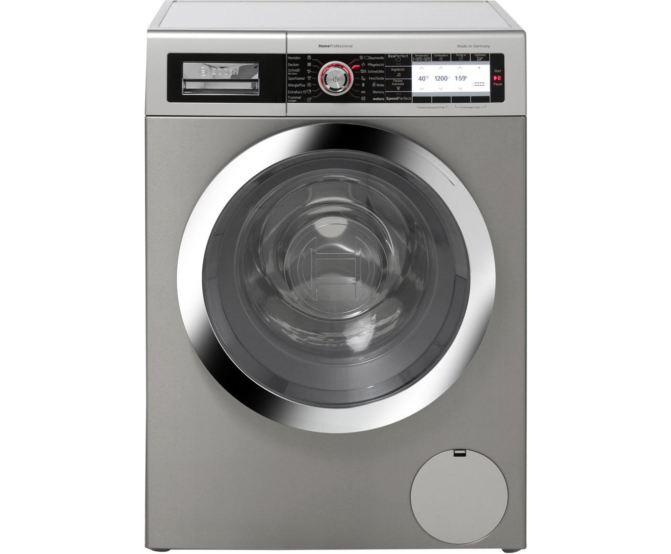 Bosch Way327x0 Waschmaschine Edelstahl 9 Kg 1600 U Min A