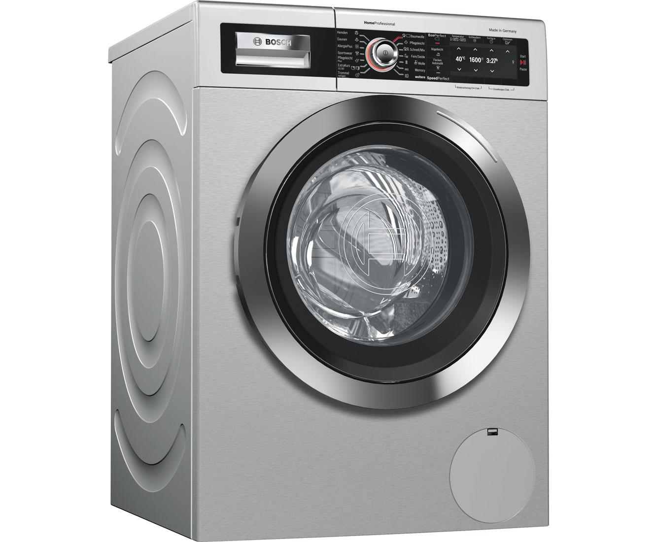 Bosch way waschmaschine edelstahl kg u min a