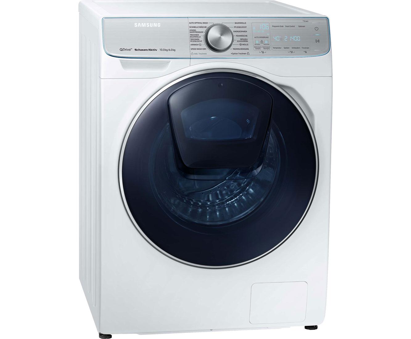Shopthewall samsung wd10n84inoa eg waschtrockner mit quickdrive