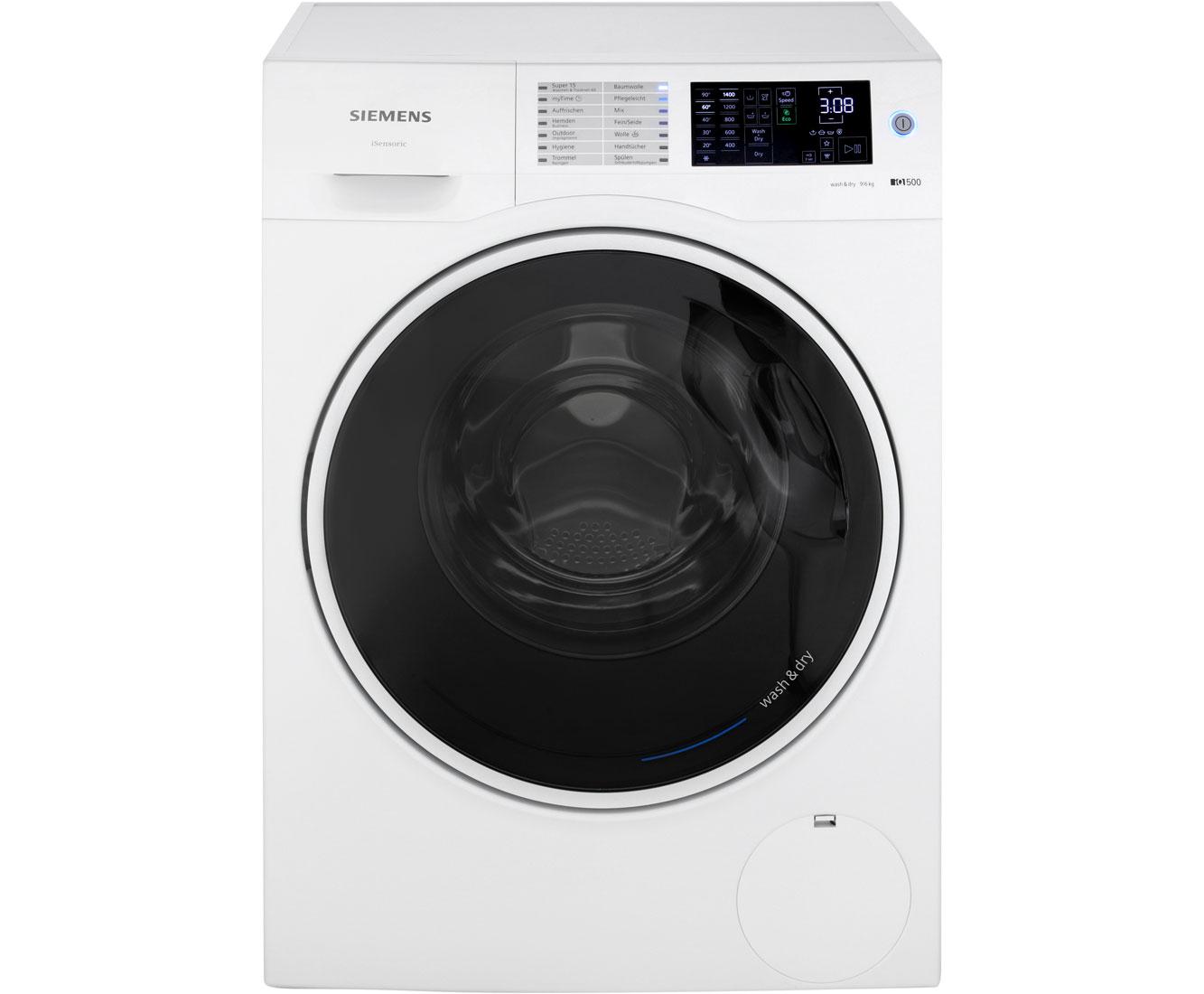 Siemens iq wd u waschtrockner kg waschen kg