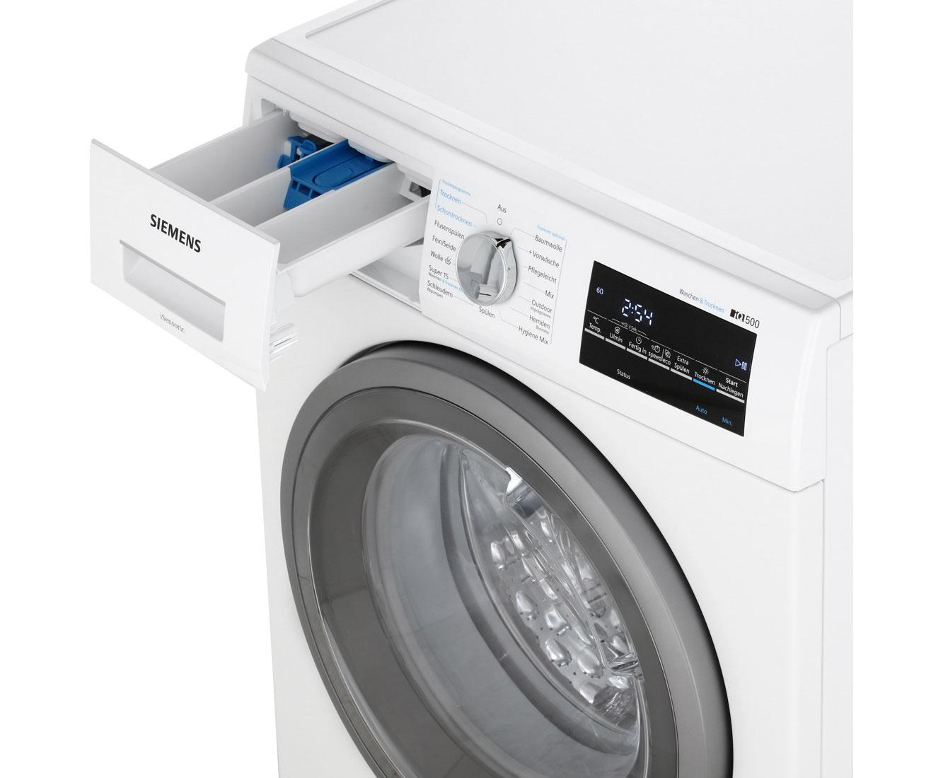 Siemens iq500 wd15g443 waschtrockner 7 kg waschen 4 kg trocknen