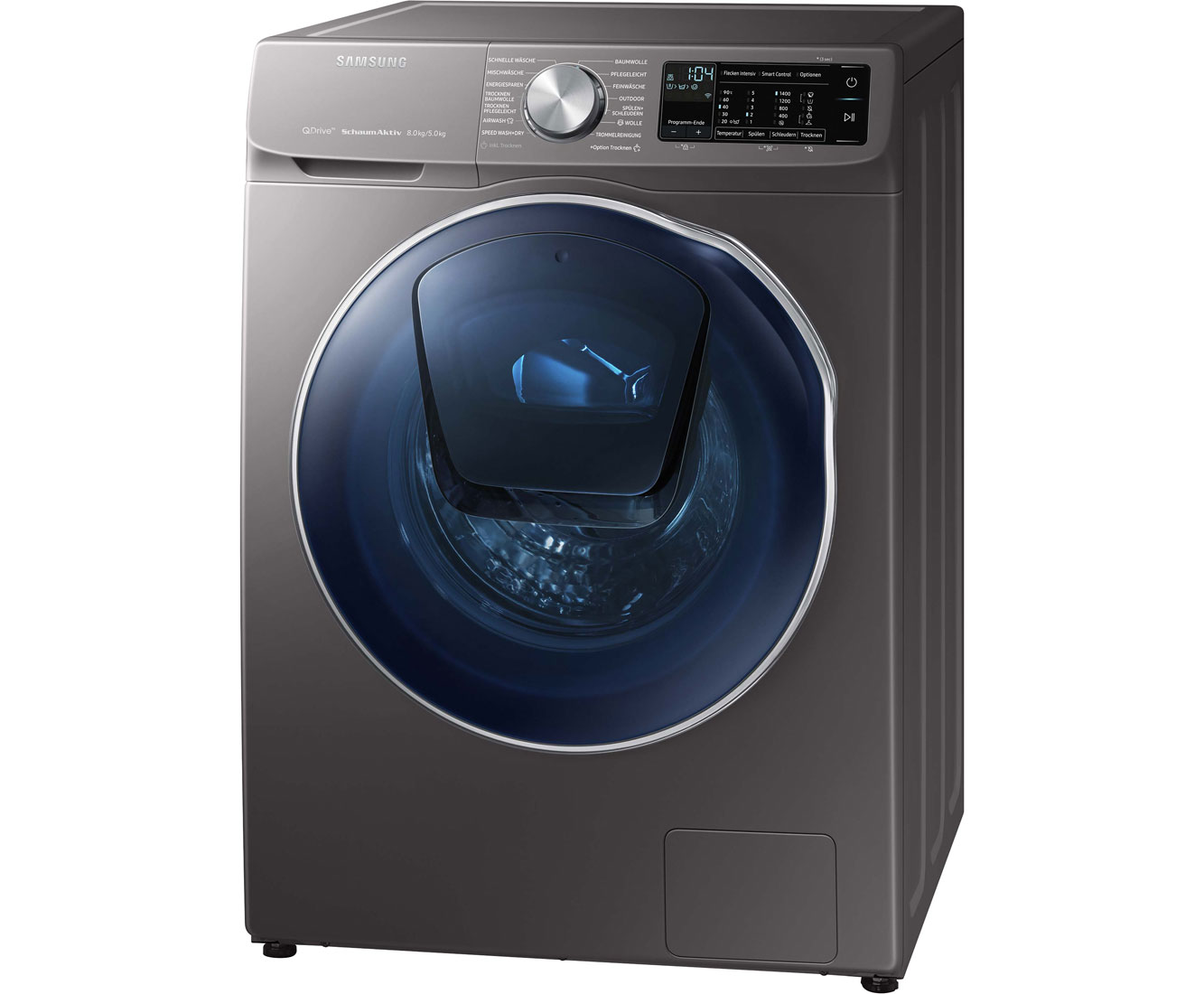 Samsung wd80n642oox eg waschtrockner freistehend edelstahl neu ebay