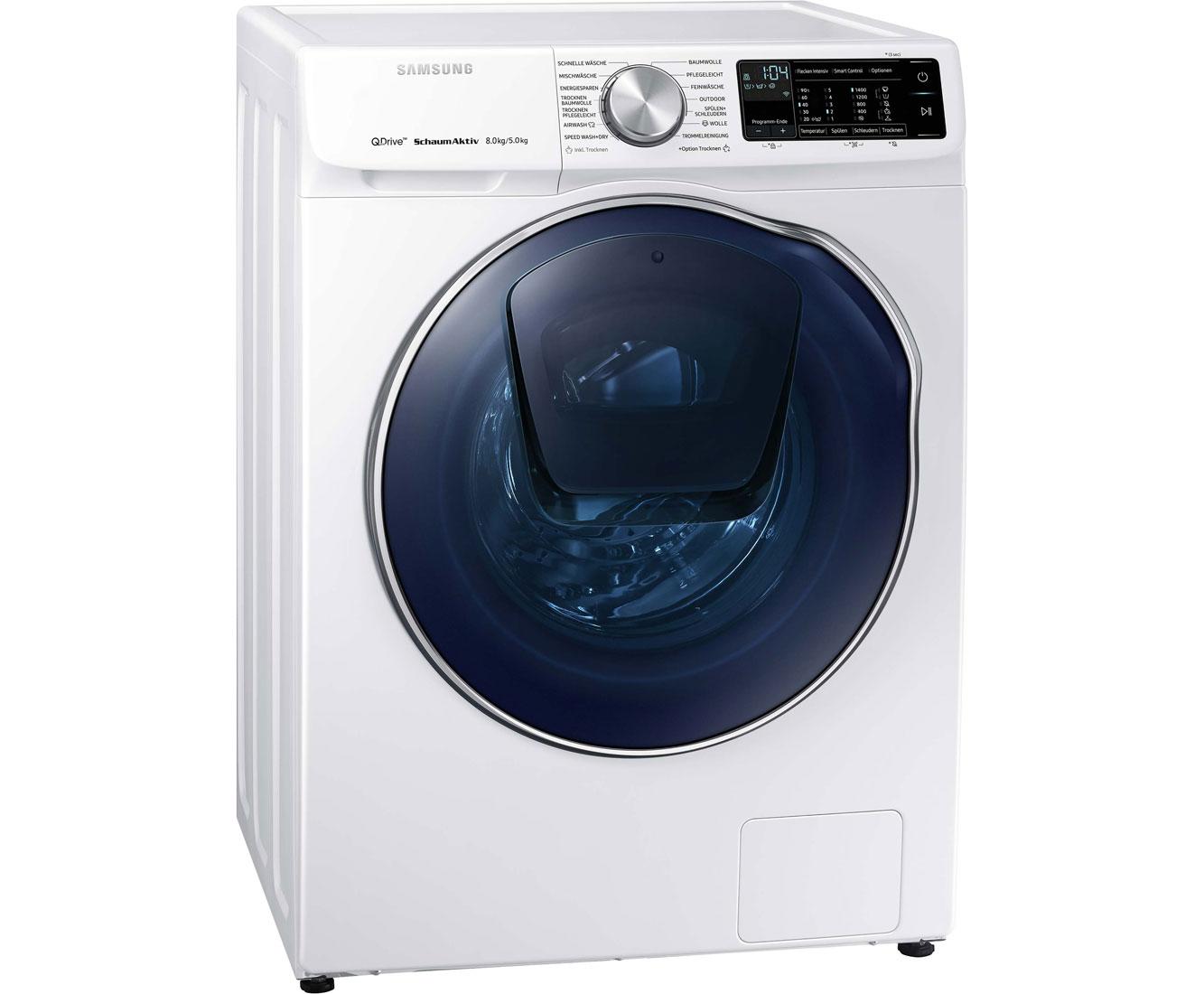 Samsung wd81n642oow eg waschtrockner 8 kg waschen 5 kg trocknen