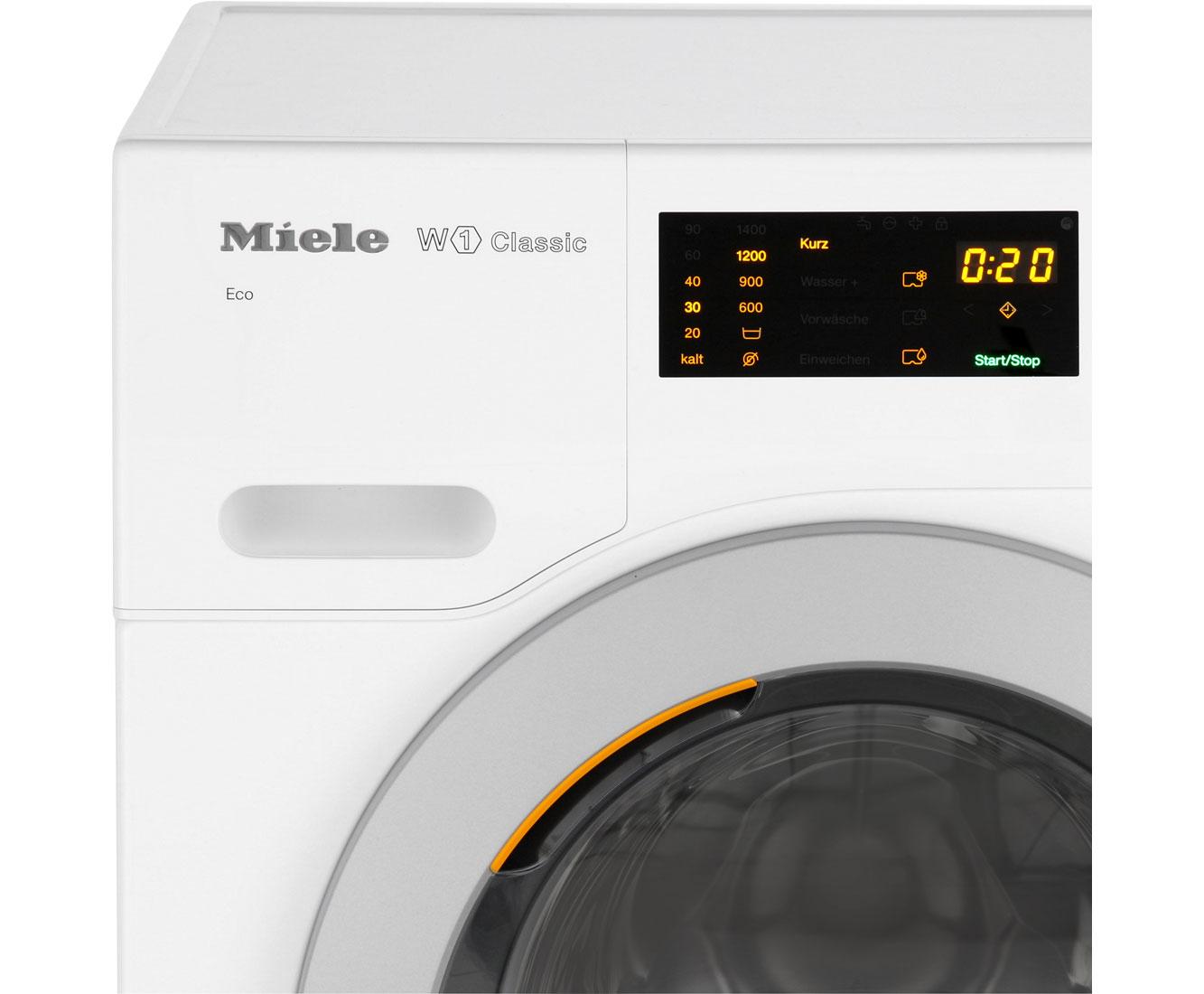 Miele w white edition wdb wcs eco waschmaschine kg u